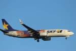 imosaさんが、羽田空港で撮影したスカイマーク 737-81Dの航空フォト(写真)