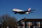 JA8037さんが、ロンドン・ヒースロー空港で撮影したブリティッシュ・エアウェイズ A380-841の航空フォト(写真)