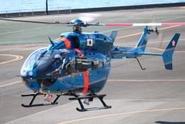 airportfireengineさんが、横浜ヘリポートで撮影した神奈川県警察 BK117C-2の航空フォト(飛行機 写真・画像)