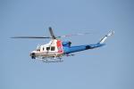 ANA744Foreverさんが、名古屋飛行場で撮影した愛知県防災航空隊 412EPIの航空フォト(写真)