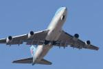 パンダさんが、成田国際空港で撮影した大韓航空 747-4B5の航空フォト(写真)
