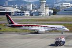 yabyanさんが、名古屋飛行場で撮影した三菱航空機 MRJ90STDの航空フォト(飛行機 写真・画像)
