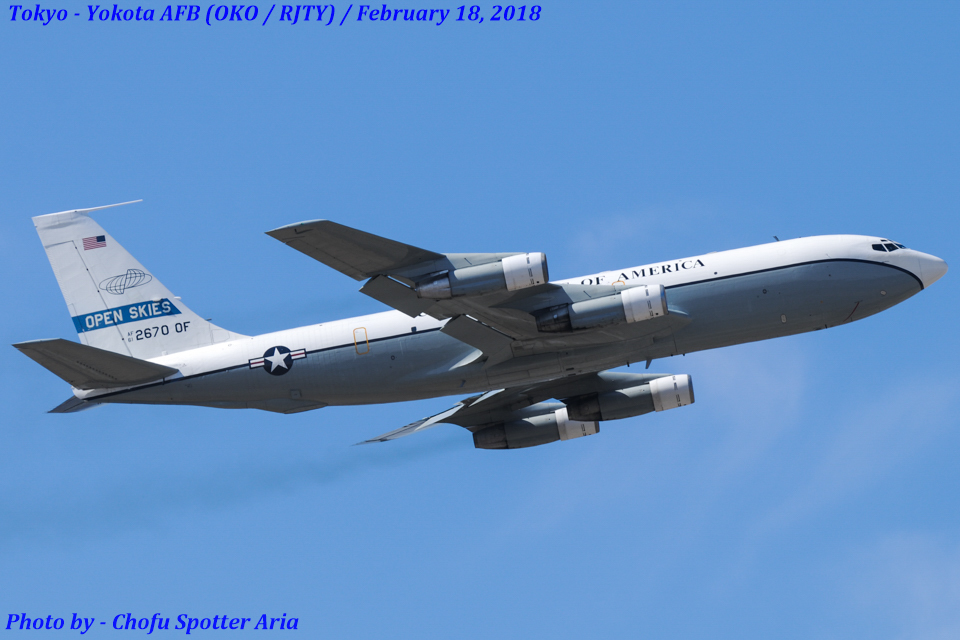 Chofu Spotter Ariaさんのアメリカ空軍 Boeing C-135 Stratolifter (61-2670) 航空フォト