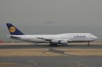 ユターさんが、羽田空港で撮影したルフトハンザドイツ航空 747-830の航空フォト(写真)