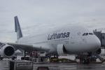 JA8037さんが、ミュンヘン・フランツヨーゼフシュトラウス空港で撮影したルフトハンザドイツ航空 A380-841の航空フォト(写真)