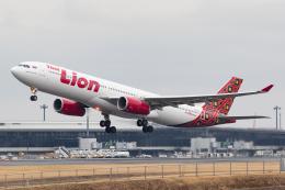 あんくんさんが、成田国際空港で撮影したタイ・ライオン・エア A330-343Xの航空フォト(写真)