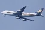 ジェットジャンボさんが、北九州空港で撮影したシンガポール航空カーゴ 747-412F/SCDの航空フォト(写真)