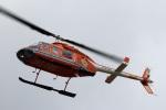 Wasawasa-isaoさんが、名古屋飛行場で撮影した新日本ヘリコプター 206L-3 LongRanger IIIの航空フォト(飛行機 写真・画像)