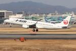 ゆう改めてさんが、伊丹空港で撮影したジェイ・エア ERJ-190-100(ERJ-190STD)の航空フォト(写真)