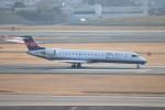 ゆう改めてさんが、伊丹空港で撮影したアイベックスエアラインズ CL-600-2C10 Regional Jet CRJ-702の航空フォト(写真)