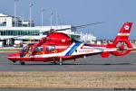 れんしさんが、北九州空港で撮影した北九州市消防航空隊 AS365N3 Dauphin 2の航空フォト(写真)