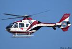 れんしさんが、北九州空港で撮影した読売新聞 EC135P2の航空フォト(写真)