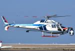 れんしさんが、北九州空港で撮影した中日本航空 AS355F2 Ecureuil 2の航空フォト(写真)