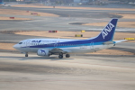 ゆう改めてさんが、伊丹空港で撮影したANAウイングス 737-54Kの航空フォト(写真)