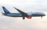 RINA-281さんが、小松空港で撮影した全日空 787-8 Dreamlinerの航空フォト(写真)