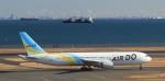 HD乗りさんが、羽田空港で撮影したAIR DO 767-33A/ERの航空フォト(写真)