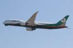 プルシアンブルーさんが、関西国際空港で撮影したエバー航空 787-9の航空フォト(写真)