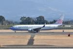 ワイエスさんが、鹿児島空港で撮影したチャイナエアライン 737-8Q8の航空フォト(写真)