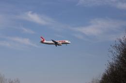 M_Mさんが、ウィーン国際空港で撮影したエアキャップ A320-232の航空フォト(飛行機 写真・画像)
