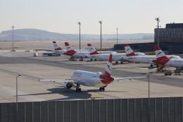 M_Mさんが、ウィーン国際空港で撮影したオーストリア航空 A320-214の航空フォト(飛行機 写真・画像)