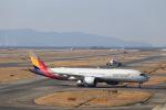 JA946さんが、関西国際空港で撮影したアシアナ航空 A350-941XWBの航空フォト(写真)