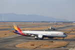 T.Sazenさんが、関西国際空港で撮影したアシアナ航空 A350-941XWBの航空フォト(飛行機 写真・画像)
