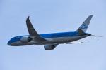 we love kixさんが、関西国際空港で撮影したKLMオランダ航空 787-9の航空フォト(写真)