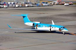 まいけるさんが、羽田空港で撮影したケイマン諸島企業所有 G650 (G-VI)の航空フォト(写真)