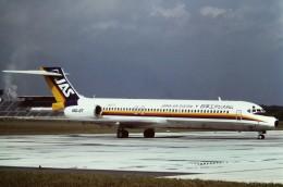 tassさんが、松本空港で撮影した日本エアシステム MD-87 (DC-9-87)の航空フォト(飛行機 写真・画像)