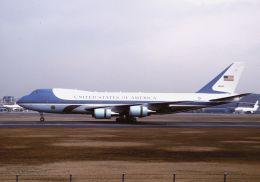 ITM58さんが、伊丹空港で撮影したアメリカ空軍 VC-25A (747-2G4B)の航空フォト(飛行機 写真・画像)