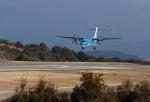 ひめままさんが、天草飛行場で撮影した天草エアライン ATR-42-600の航空フォト(写真)