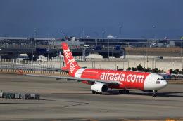 JA946さんが、関西国際空港で撮影したタイ・エアアジア・エックス A330-343Xの航空フォト(写真)