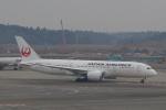Hitsujiさんが、成田国際空港で撮影した日本航空 787-8 Dreamlinerの航空フォト(写真)