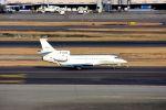 まいけるさんが、羽田空港で撮影したCITICジェネラル・アヴィエーション Falcon 7Xの航空フォト(写真)