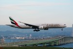 k-spotterさんが、関西国際空港で撮影したエミレーツ航空 777-31H/ERの航空フォト(写真)
