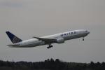 ☆ライダーさんが、成田国際空港で撮影したユナイテッド航空 777-222の航空フォト(写真)