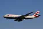 starlightさんが、成田国際空港で撮影したブリティッシュ・エアウェイズ 747-436の航空フォト(写真)