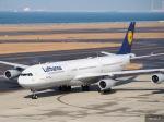 HRK-HNDさんが、中部国際空港で撮影したルフトハンザドイツ航空 A340-313Xの航空フォト(写真)