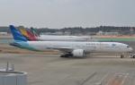IL-18さんが、成田国際空港で撮影したガルーダ・インドネシア航空 777-3U3/ERの航空フォト(写真)
