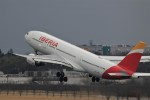 ☆ライダーさんが、成田国際空港で撮影したイベリア航空 A330-202の航空フォト(写真)