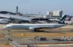 ハピネスさんが、関西国際空港で撮影したキャセイパシフィック航空 777-367の航空フォト(飛行機 写真・画像)