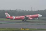 kuro2059さんが、成田国際空港で撮影したタイ・エアアジア・エックス A330-343Xの航空フォト(飛行機 写真・画像)