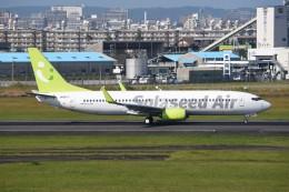 kumagorouさんが、宮崎空港で撮影したソラシド エア 737-81Dの航空フォト(写真)