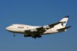 starlightさんが、成田国際空港で撮影したイラン航空 747SP-86の航空フォト(写真)