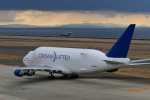 Dream2016さんが、中部国際空港で撮影したボーイング 747-409(LCF) Dreamlifterの航空フォト(写真)
