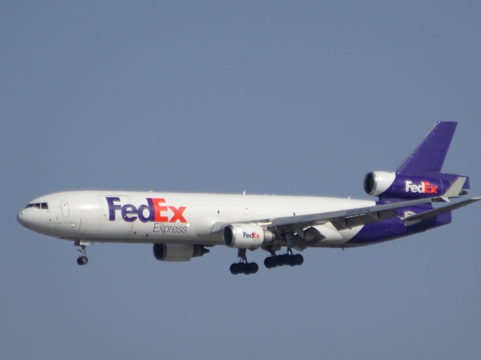 KAZFLYERさんのフェデックス・エクスプレス McDonnell Douglas MD-11 (N607FE) 航空フォト