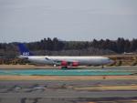 KAZFLYERさんが、成田国際空港で撮影したスカンジナビア航空 A340-313Xの航空フォト(写真)