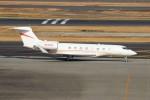 ハム太郎。さんが、羽田空港で撮影したユタ銀行 G650 (G-VI)の航空フォト(写真)