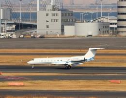 ハム太郎。さんが、羽田空港で撮影したメトロジェット G-V-SP Gulfstream G550の航空フォト(写真)