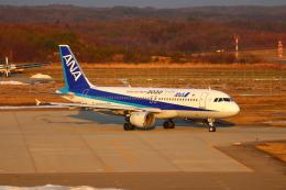おっつんさんが、能登空港で撮影した全日空 A320-211の航空フォト(写真)